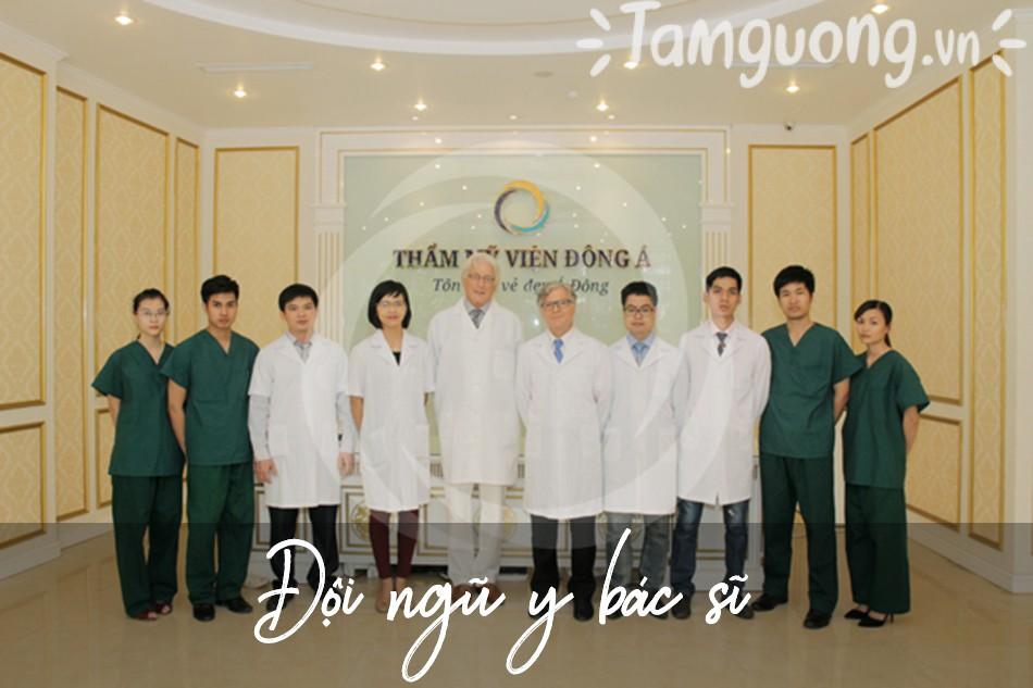 Đội ngũ bệnh viện thẩm mỹ Đông Á
