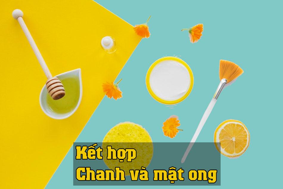 Kết hợp chanh và mật ong trị sẹo thâm