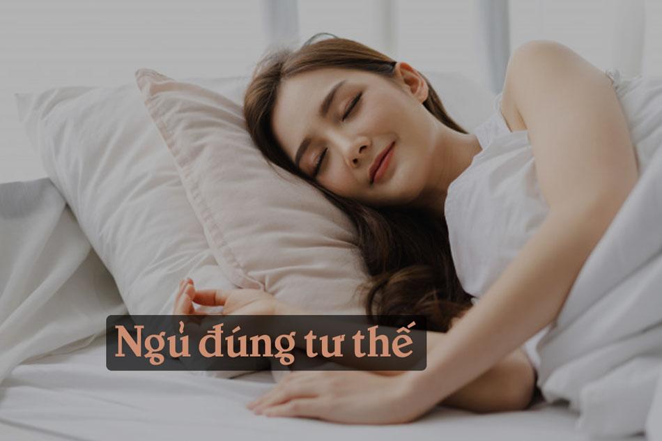 Ngủ đúng tư thế tăng vòng 1