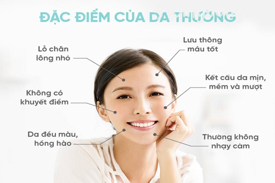 Nhận biết và chăm sóc da thường