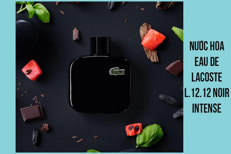 Nước hoa Eau De Lacoste L.12.12 Noir Intense