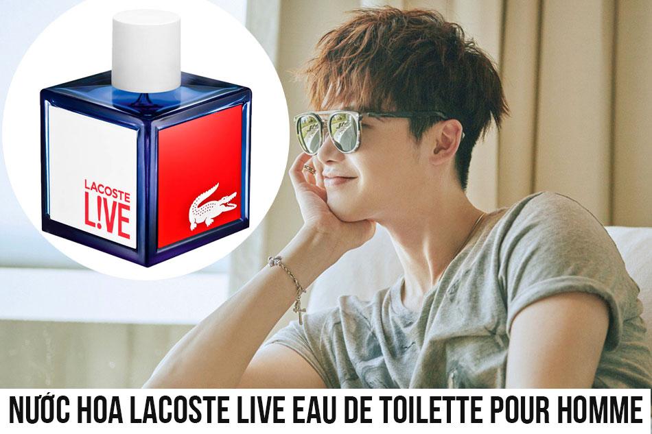Nước hoa Lacoste Live Eau De Toilette Pour Homme