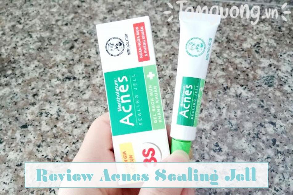 Review Acnes Sealing Jell từ người dùng