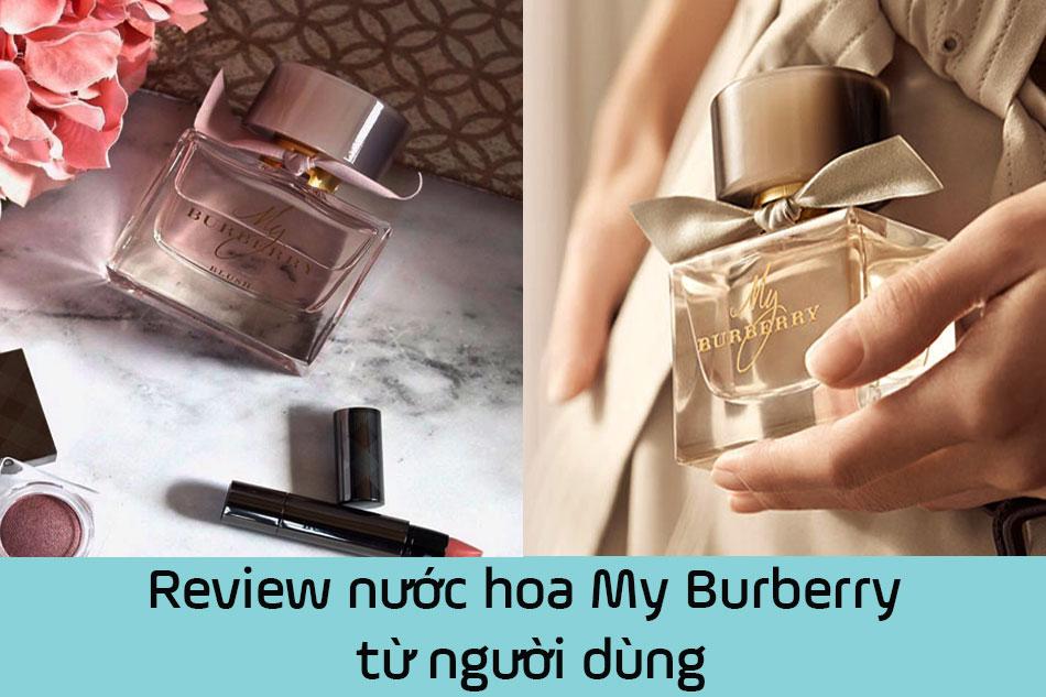 Review nước hoa My Burberry từ người dùng