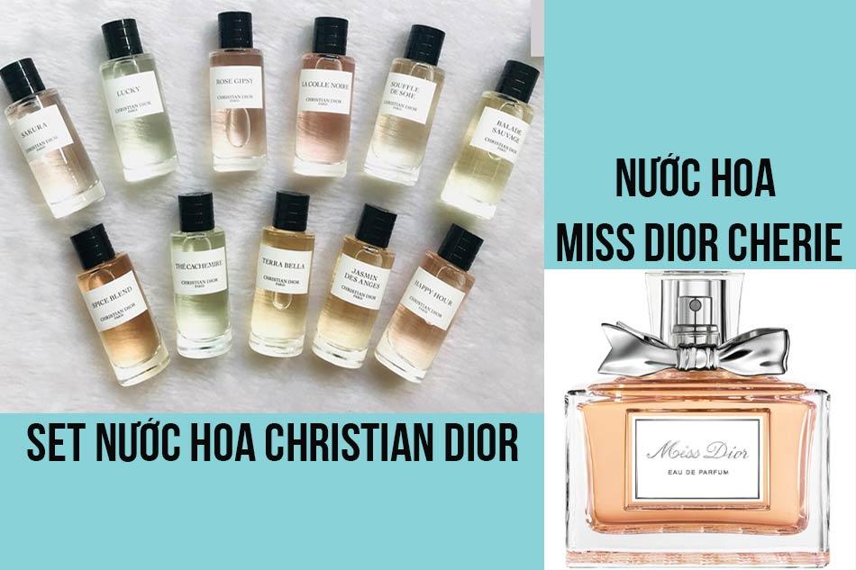 Set nước hoa Christian Dior - Miss Dior Cherie