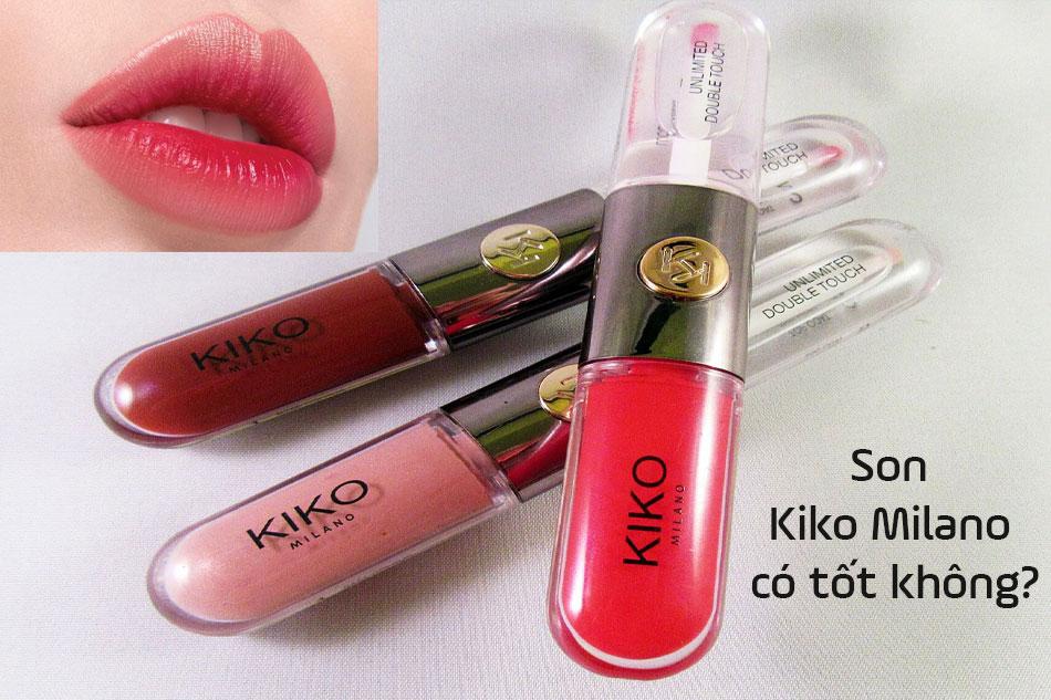 Son Kiko Milano có tốt không?