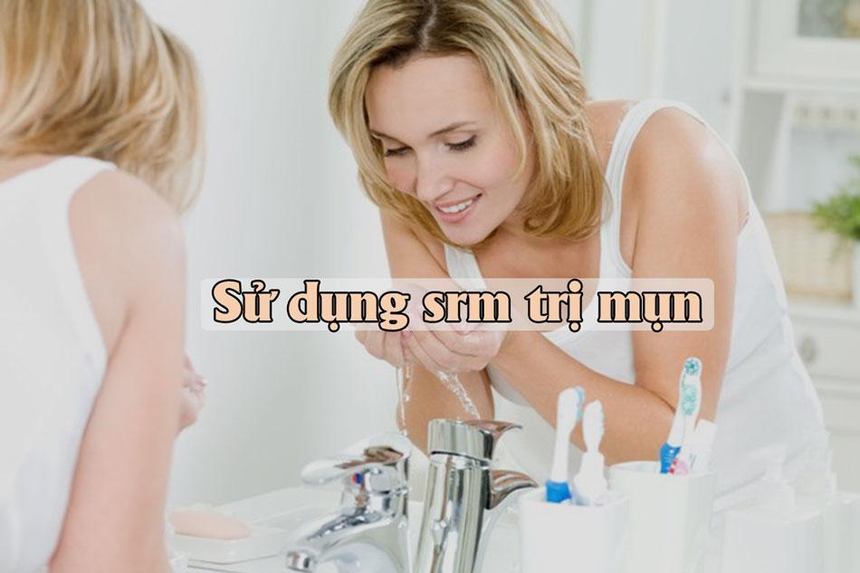 Sữa rửa mặt trị mụn