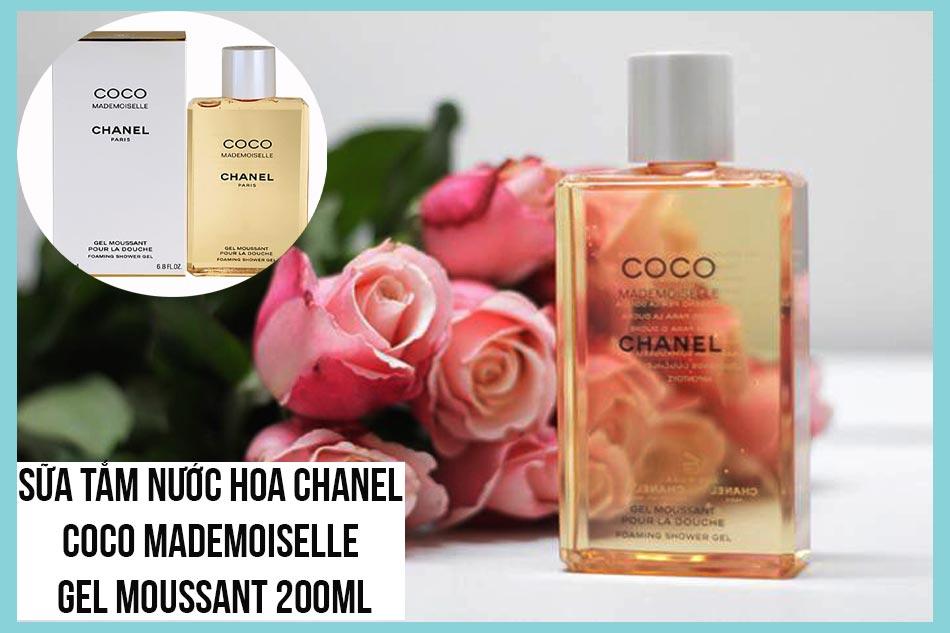 Sữa tắm nước hoa Chanel Coco Mademoiselle Gel Moussant 200ml