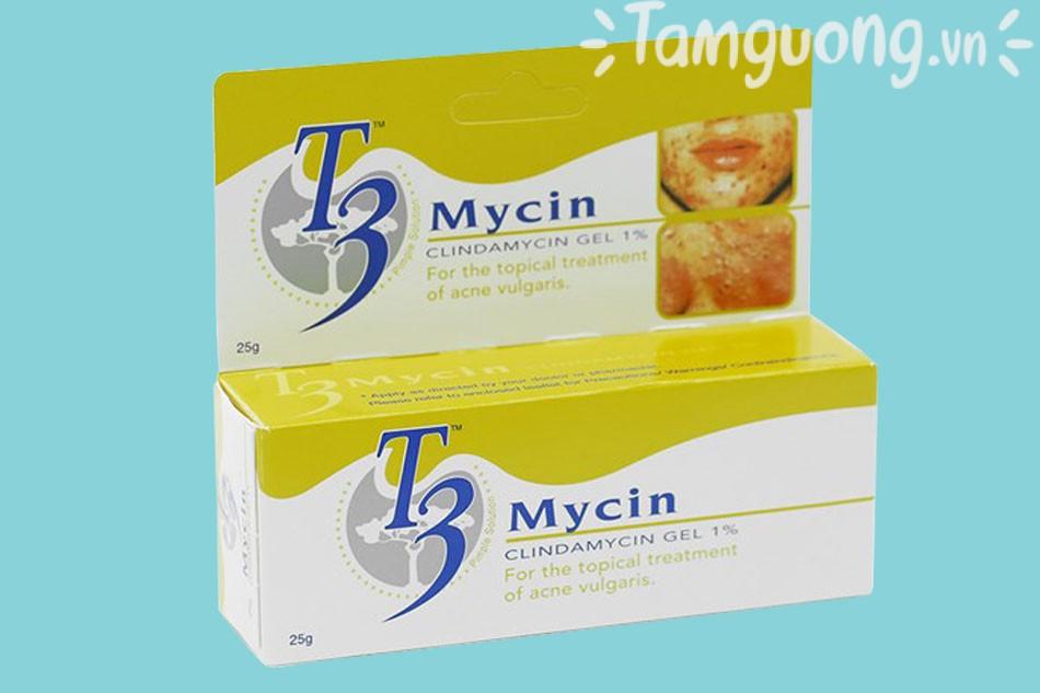 Thành phần của kem T3 Mycin Gel