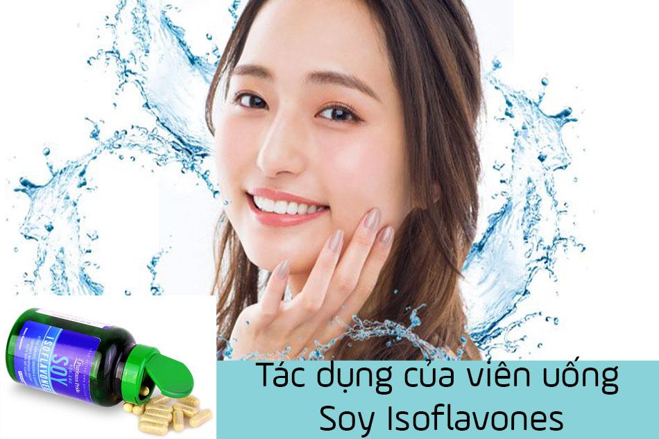 Tác dụng của viên uống Soy Isoflavones