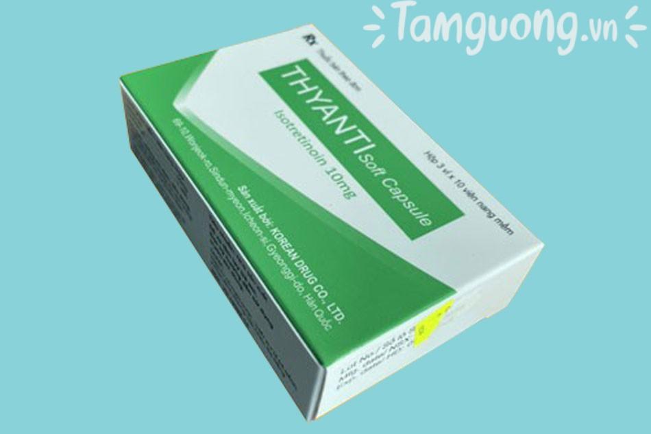 Thuốc Thyanti Soft Capsule 10mg chính hãng giá bao nhiêu?