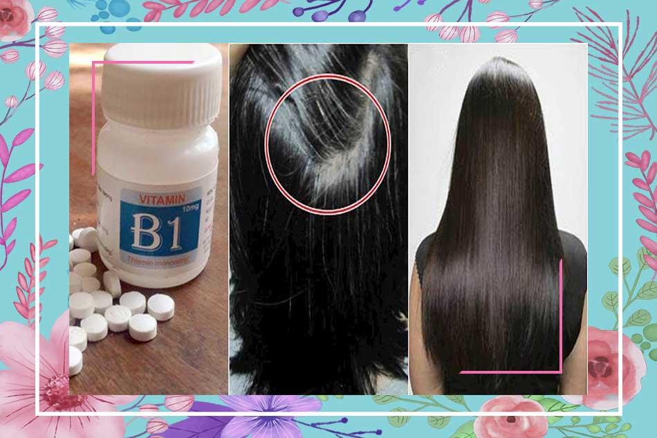 Cách làm tóc bé mọc nhanh cho nữ bằng vitamin B1