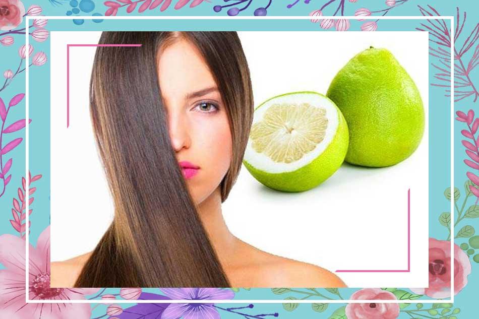 Cách làm tóc mọc dài và dày nhanh nhất bằng tinh dầu bưởi