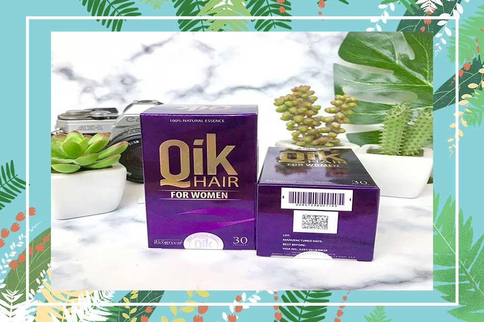 Cách sử dụng - liều dùng viên uống Qik Hair For Men cho nam, Qik Hair For Women cho nữ