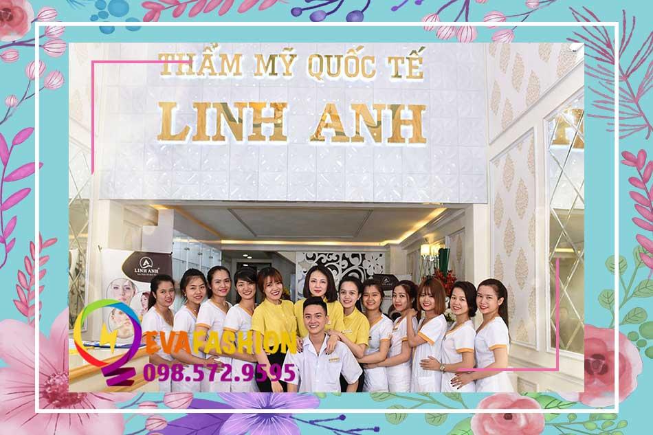 Địa chỉ chi nhánh thẩm mỹ viện Linh Anh tại Miền Nam