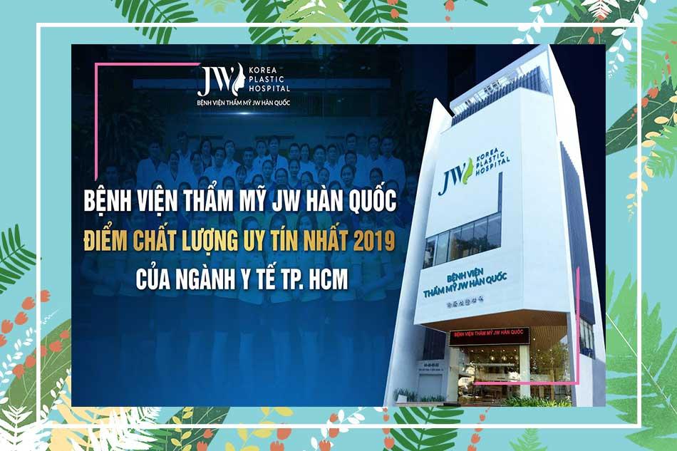 Đôi nét về bệnh viện bệnh viện thẩm mỹ JW Hàn Quốc