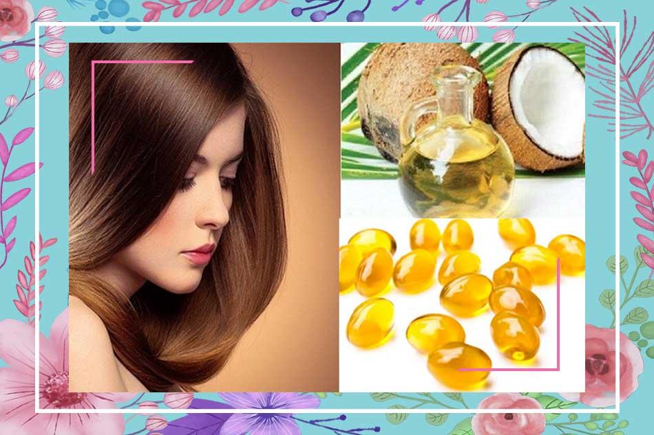 Dùng vitamin E kích thích mọc tóc nhanh và dài