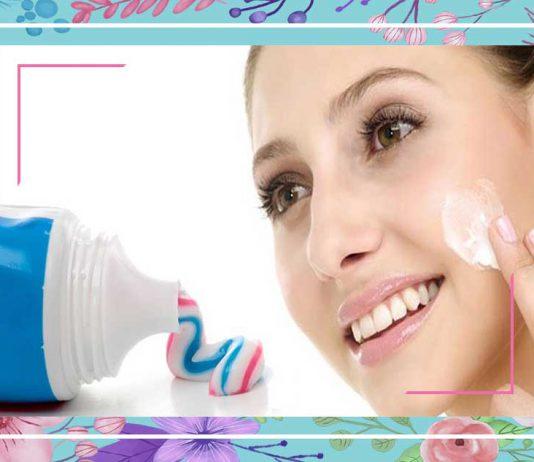 Kem đánh răng trị mụn
