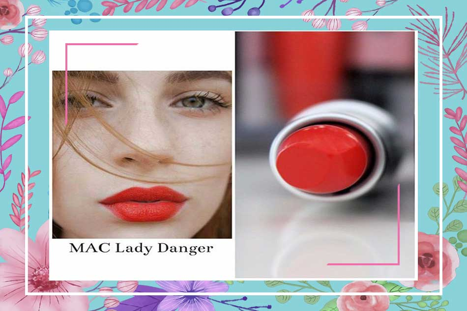 Mac Relentlessly Red và Mac Lady Danger