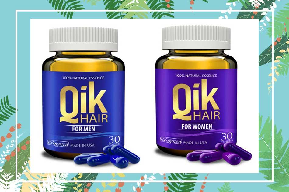 Phân biệt Qik Hair thật và giả
