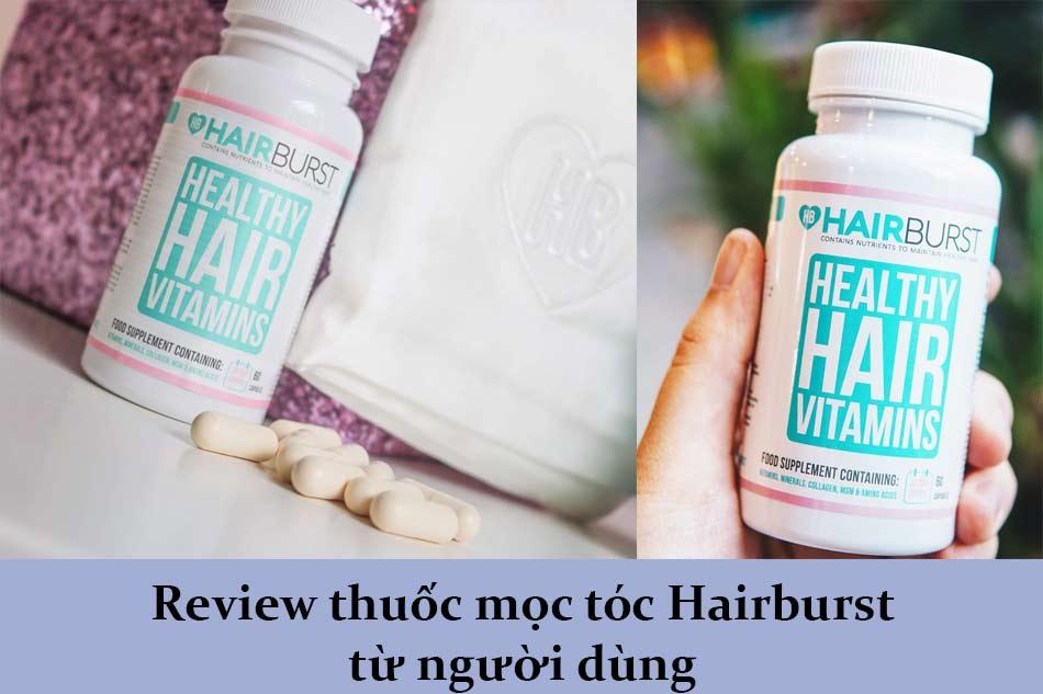 Review thuốc mọc tóc Hairburst từ người dùng