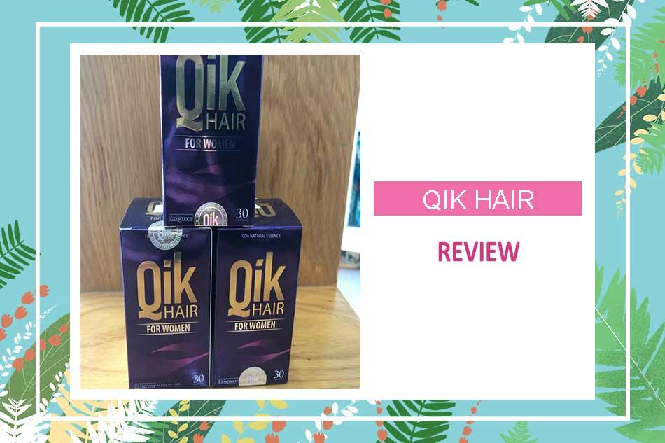 Review viên uống mọc tóc Qik Hair từ Webtretho