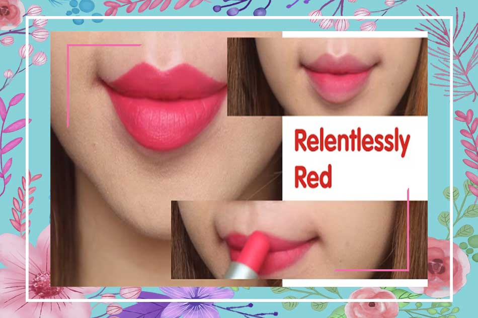 Son Mac Relentlessly Red Lipstick có tốt không?