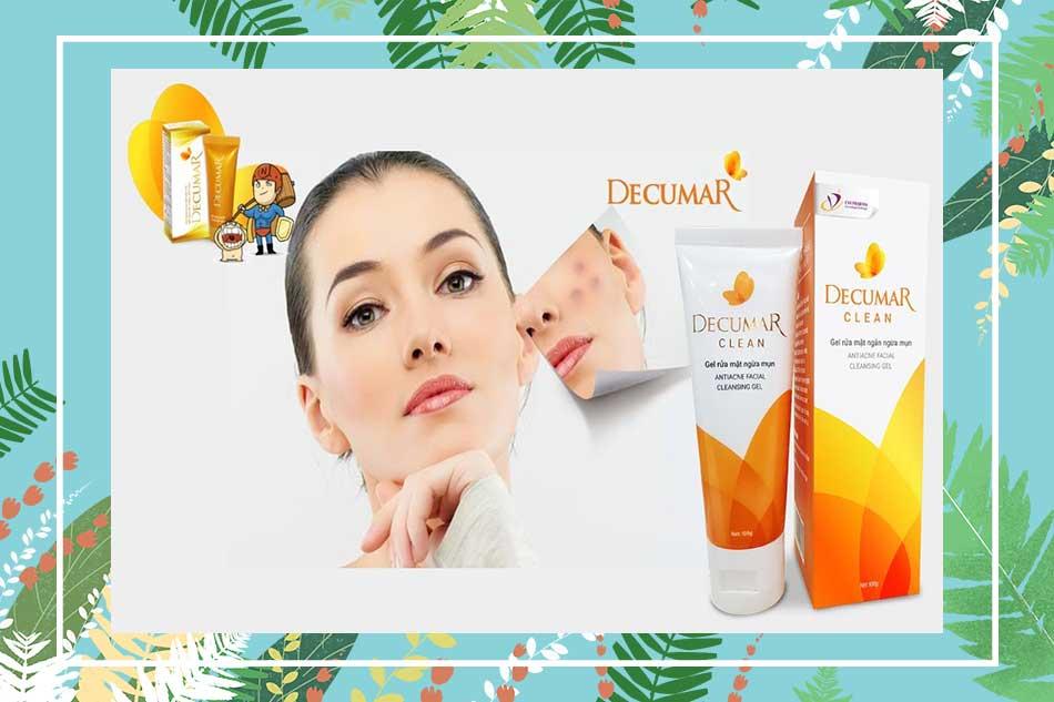 Sữa rửa mặt Decumar Clean có tác dụng gì?