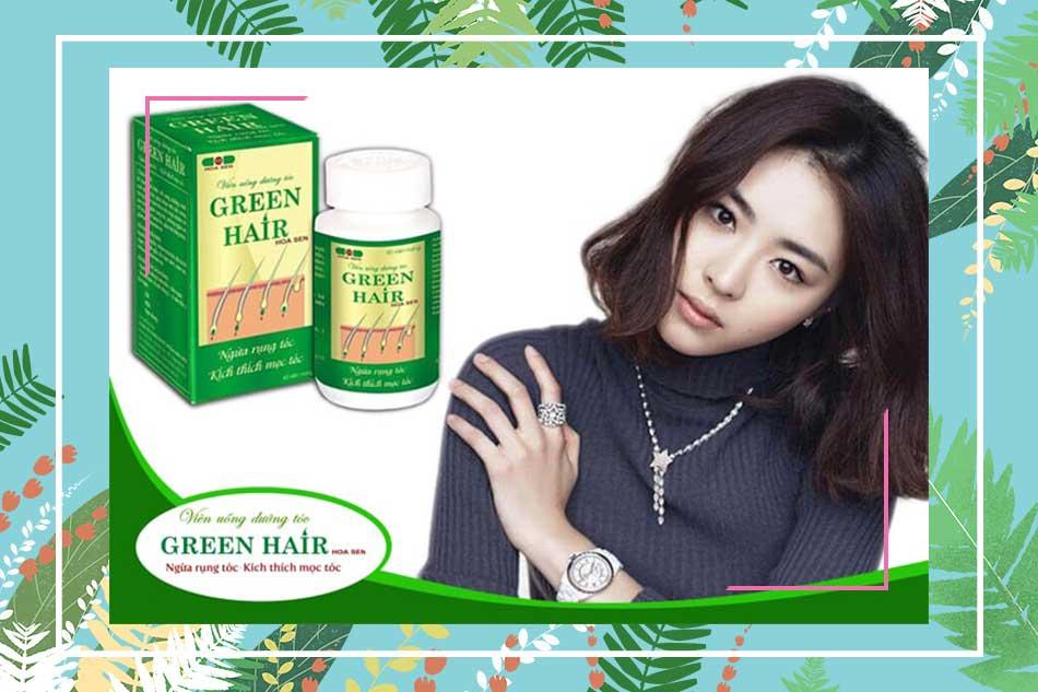 Tác dụng của viên uống Green Hair