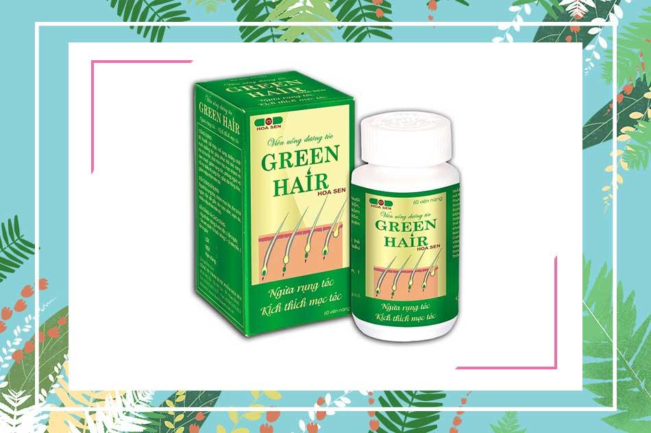 Green Hair Hoa Sen, cứu tinh cho những người rụng tóc. Thuốc trị rụng tóc Green Hair Hoa Sen là gì?