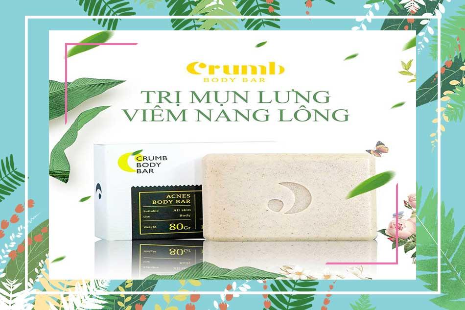 Xà Phòng Trị Mụn Lưng - Crumb Body Soap