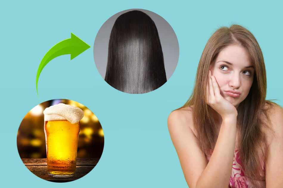 Bia có tác dụng gì trong chăm sóc tóc?