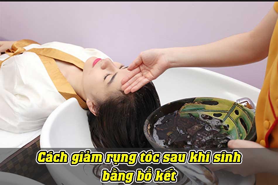 Cách giảm rụng tóc sau khi sinh bằng bồ kết