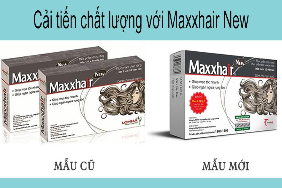 Cải tiến chất lượng với Maxxhair New