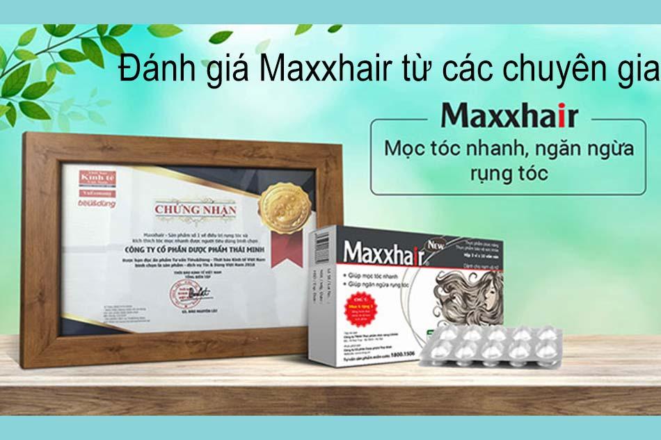 Đánh giá Maxxhair từ các chuyên gia