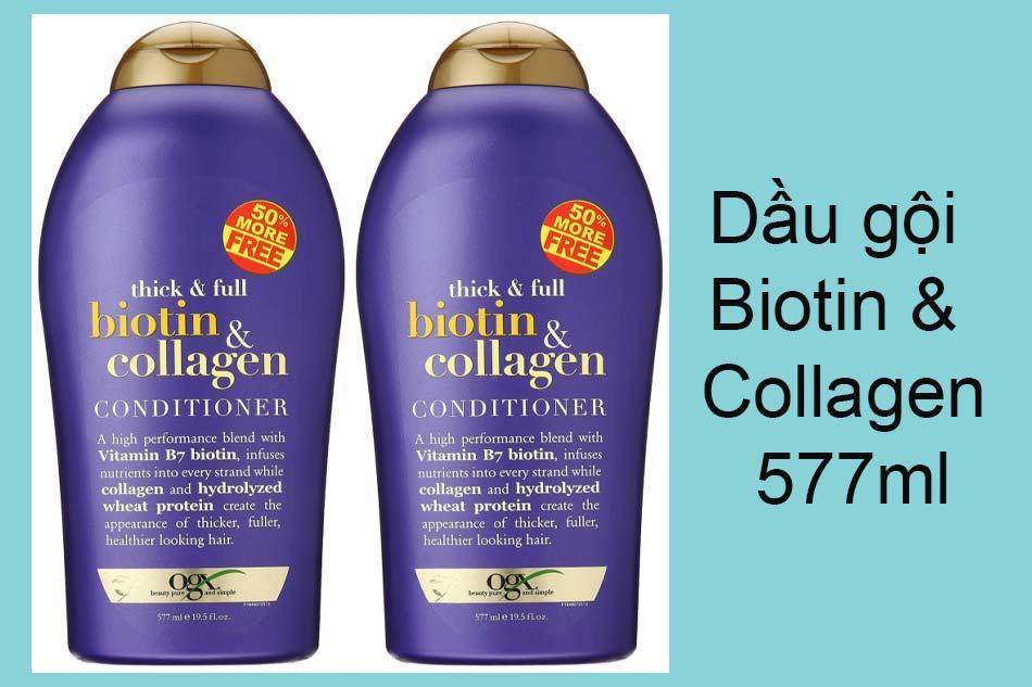 Dầu gội Biotin & Collagen 577ml