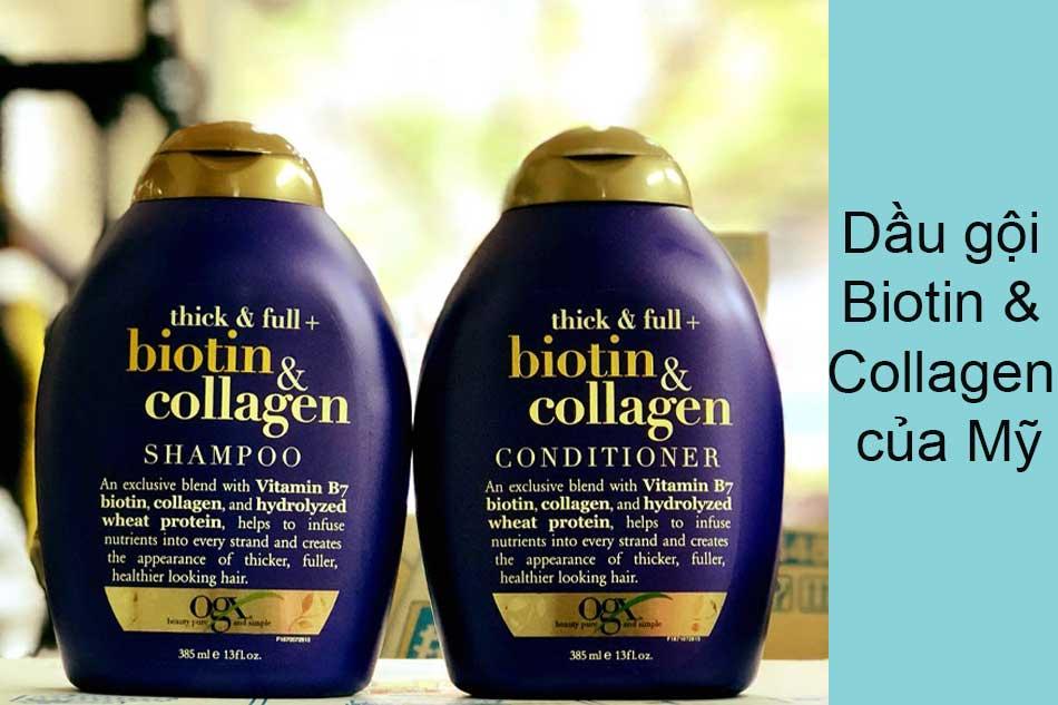 Dầu gội Biotin & Collagen của Mỹ