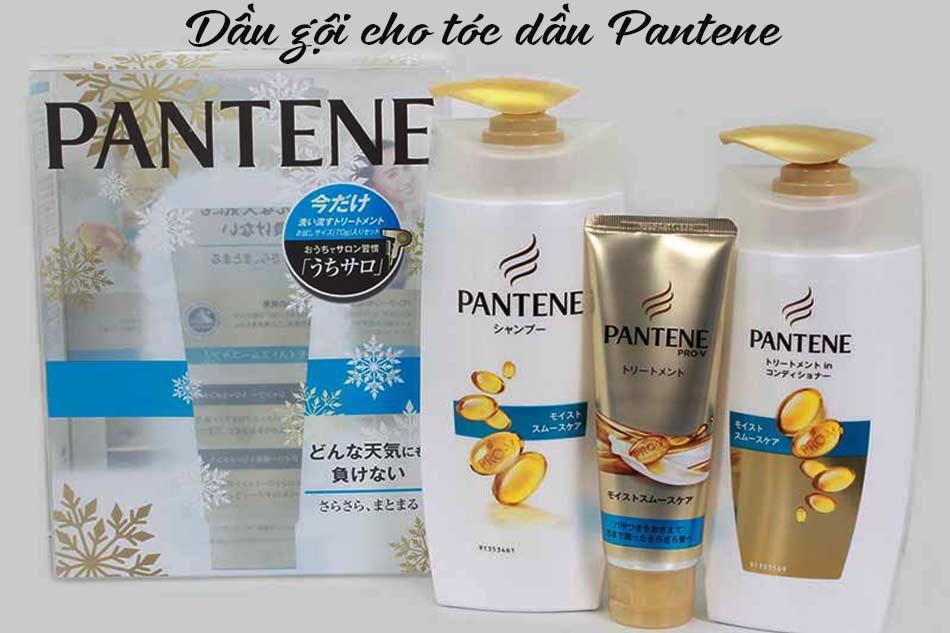 Dầu gội cho tóc dầu Pantene