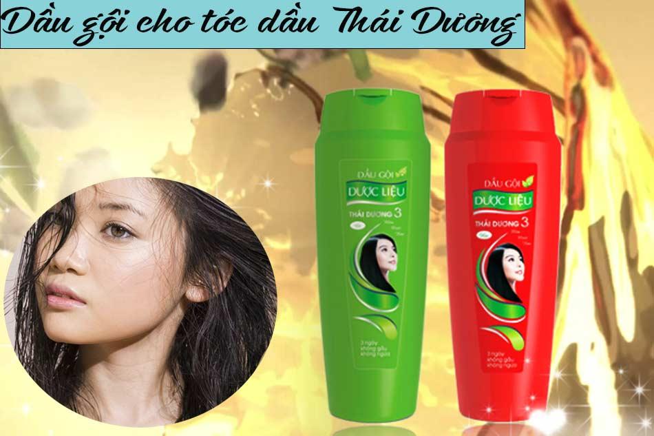Dầu gội cho tóc dầu Thái Dương