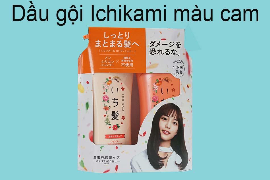 Dầu gội Ichikami màu cam