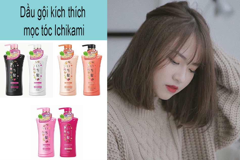 Dầu gội kích thích mọc tóc Ichikami