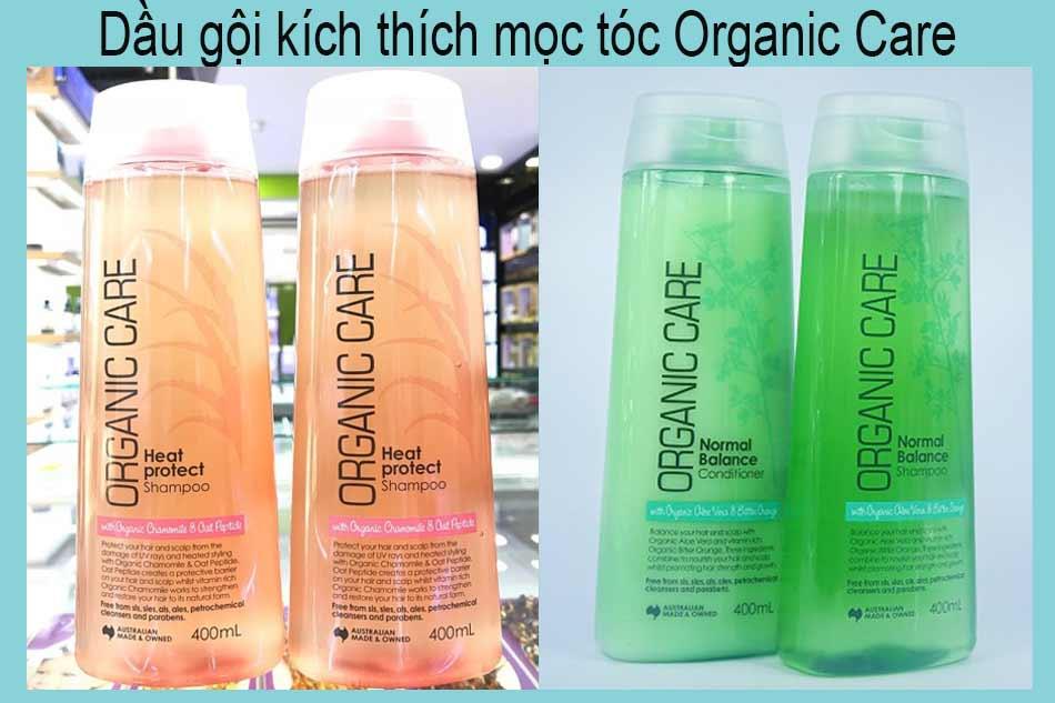Dầu gội kích thích mọc tóc Organic Care