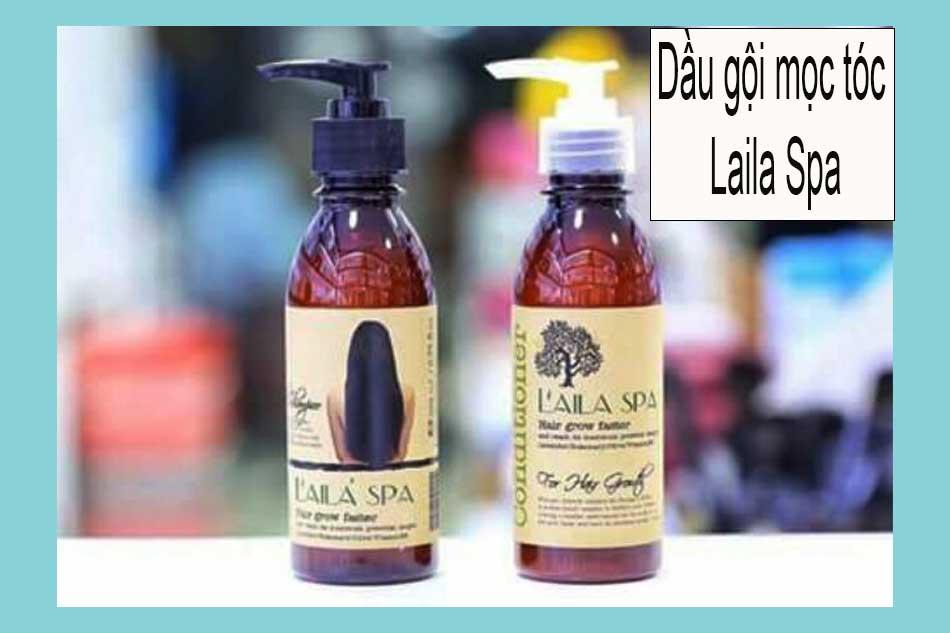 Dầu gội mọc tóc Laila Spa