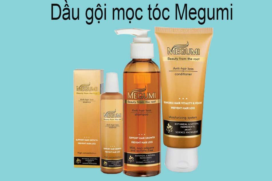Dầu gội mọc tóc Megumi