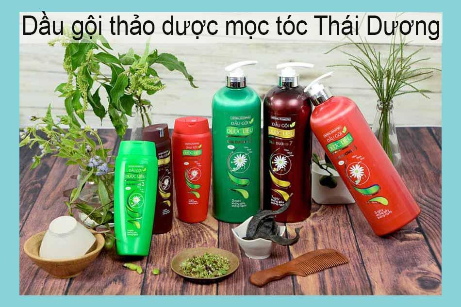 Dầu gội thảo dược mọc tóc Thái Dương