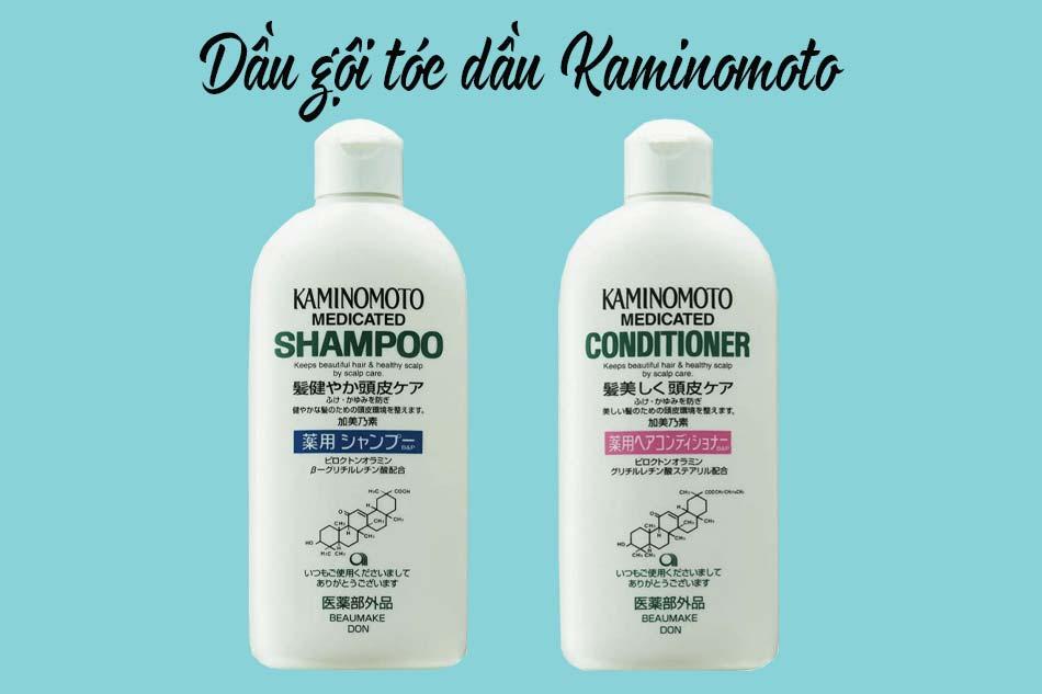 Dầu gội tóc dầu Kaminomoto