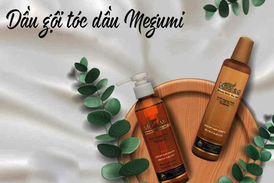 Dầu gội tóc dầu Megumi