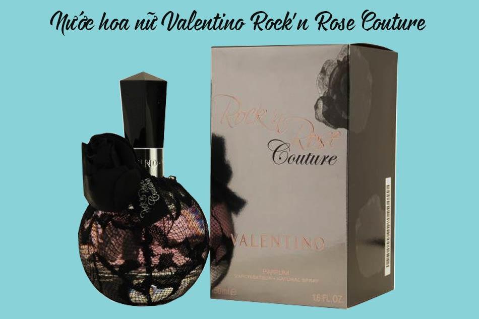 Nước hoa nữ Valentino Rock'n Rose Couture