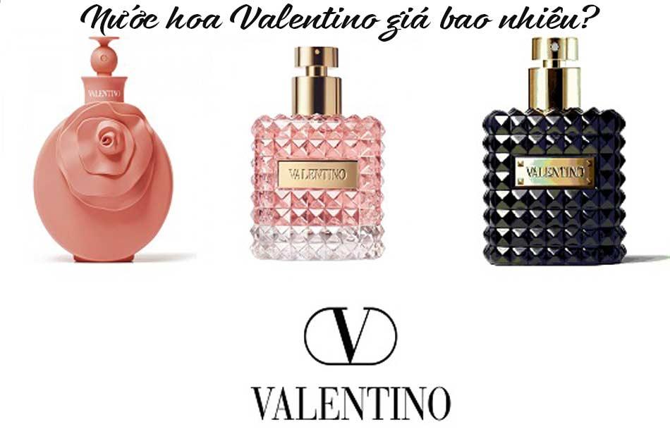 Nước hoa Valentino giá bao nhiêu?