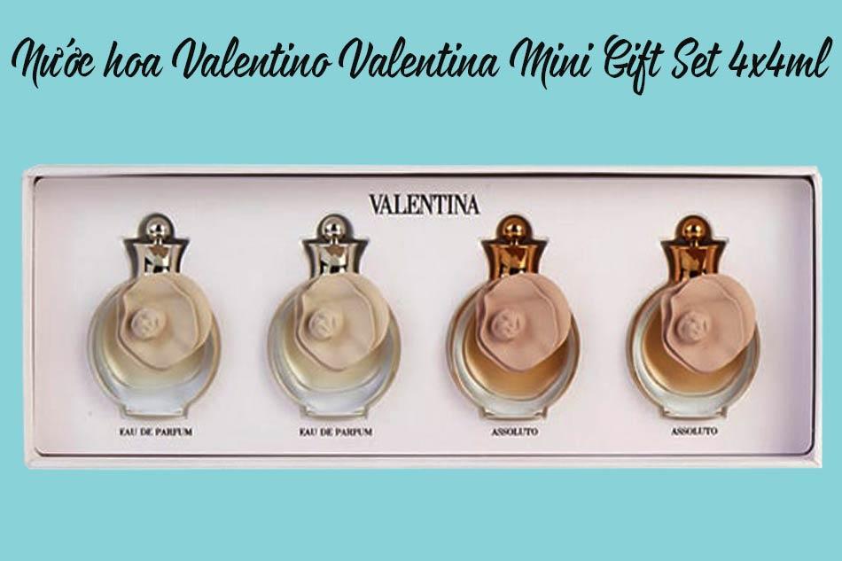 Nước hoa Valentino Valentina Mini Gift Set 4x4ml